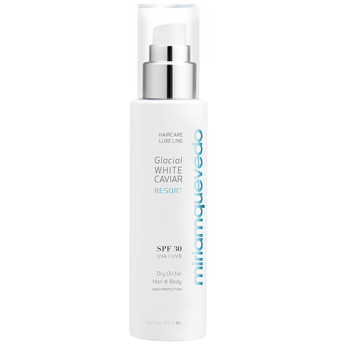 GLACIAL WHITE CAVIAR RESORT SPF30 Dry Oil For Hair And Body